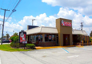 the ben-moshe brothers of marcus millichap commercial real estate single tenant investment cap rates dunkin donuts 20-year nnn net leased restaurant satellite beach florida