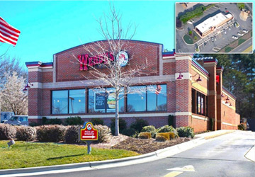 the ben-moshe brothers of marcus millichap triple net nnn single tenant nnn investment cap rates wendy's greensboro north carolina