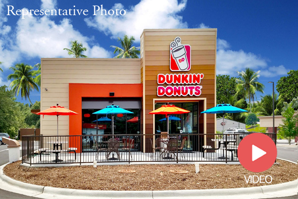 commercial real estate property for sale dunkin donuts largo florida nnn single tenant the ben-moshe brothers of marcus & millichap