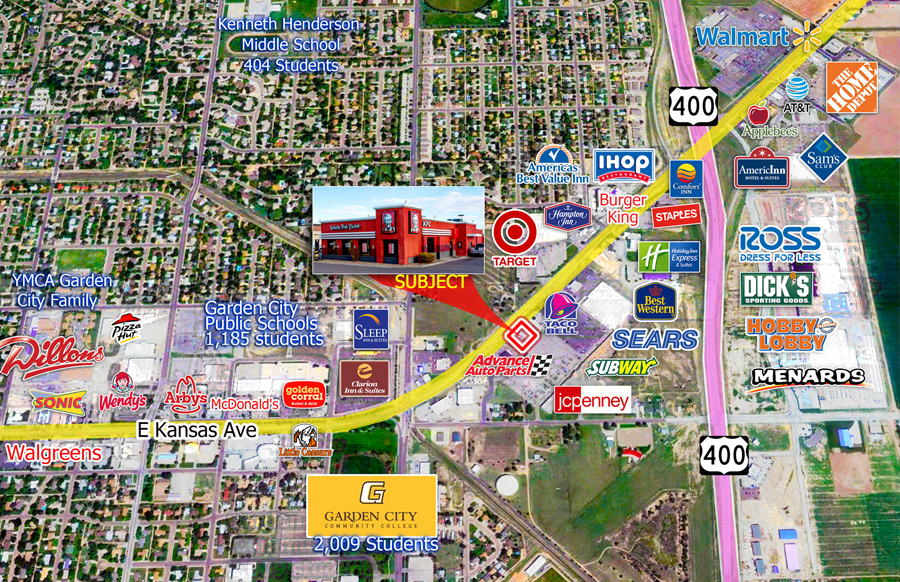 triple net leased nnn kfc garden city kansas the ben moshe brothers of marcus millichap